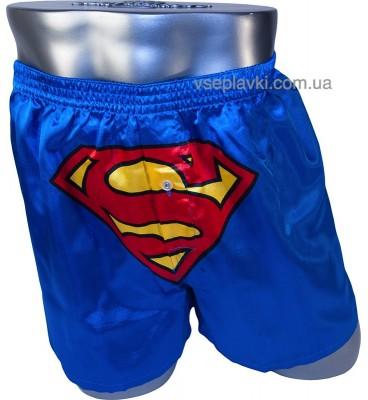 Мужские смешные семейные трусы с приколом - Супермэн Вселенной DC