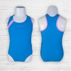 Детский купальник 695002 слитный голубой