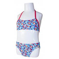 Детский купальник DZ-55 раздельный для девочек ромашки