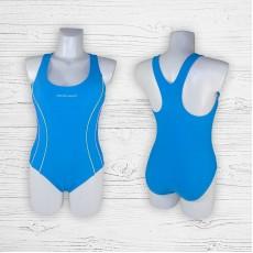 Подростковый купальник 695001 слитный голубой
