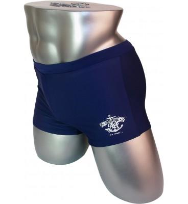 Мужские плавки 7982 боксеры синий