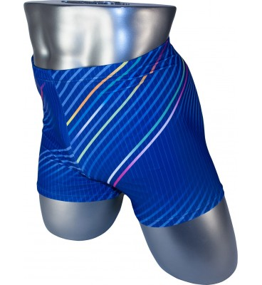Мужские плавки PH-30016 боксеры голубой принт
