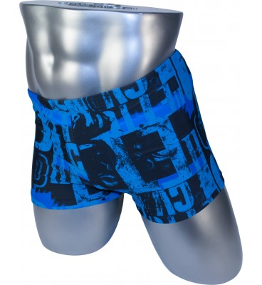 Мужские плавки 13-200 боксеры синий абстракция